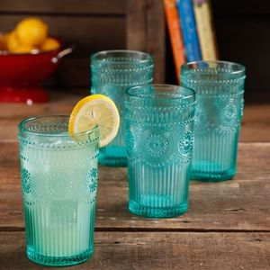 The Pioneer Woman Set Of 6 Glass Tumblers